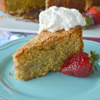 Polenta Almond Lemon Cake