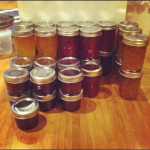 lots and lots of jam