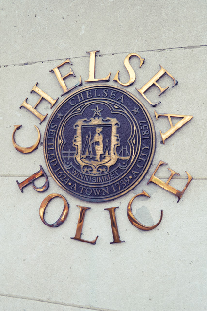 Chelsea MA_Police Station_Sign