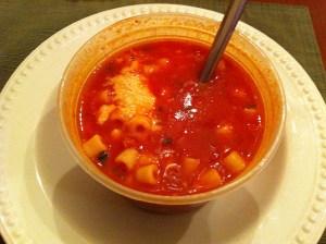 pasta fagoli soup