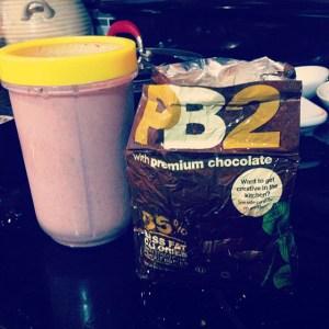 pb2 smoothie