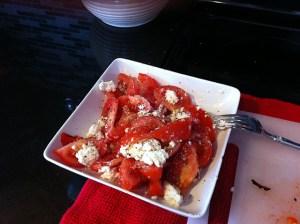tomato ricotta salad