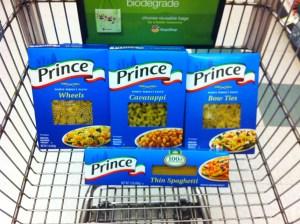 prince pasta