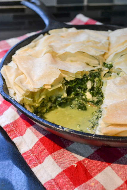 Skillet Spinach Pie