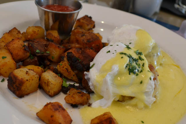 Crab Cake Eggs Benedict @ The Cottage- Chestnut Hill, MA