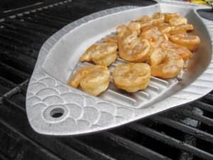 Citrus Apple Butter Glazed Shrimp-10