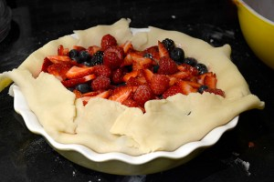 Mixed Berry Rustic Pie_12