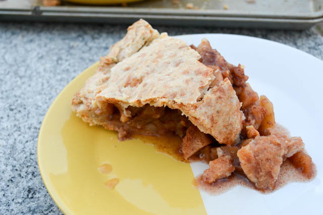 Deep Dish Apple Pie with a Cheddar Rosemary Crust-11