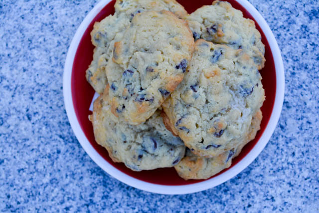 Cream Cheese Chocolate Chip Cookies-5