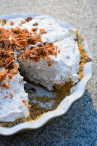 No Bake Butterfinger Pie-3