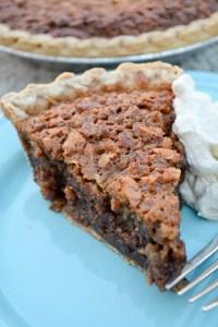 Double Chocolate Pecan Pie-5