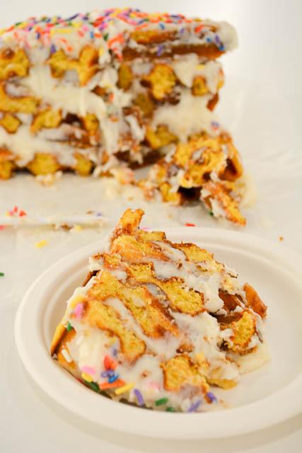 Birthday Cake Waffles 2
