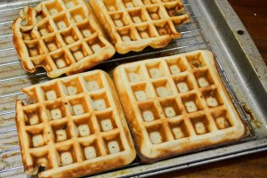 Brown Butter Banana Waffles-11