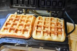 Brown Butter Banana Waffles-12