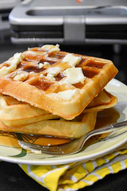 Classic Homemade Waffles-2
