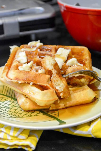 Classic Homemade Waffles