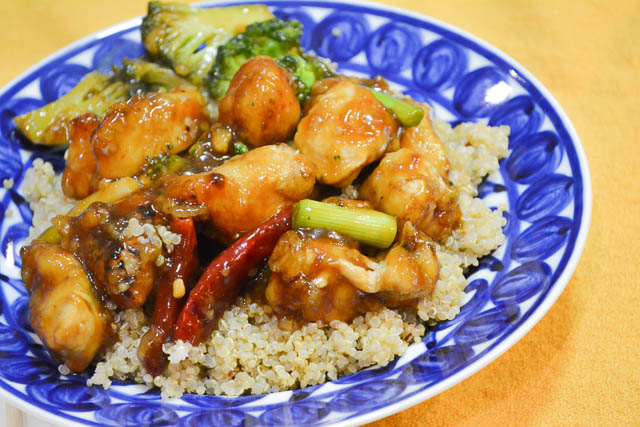 Homemade General Tso's Chicken-1