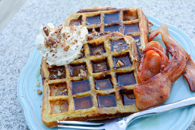 Waffled French Toast-2