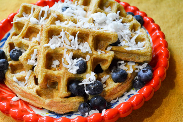 Paleo Coconut Waffles-1