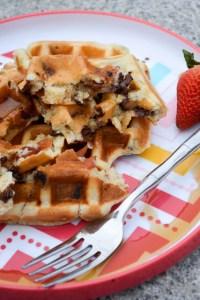 Bacon Chocolate Chip Waffles