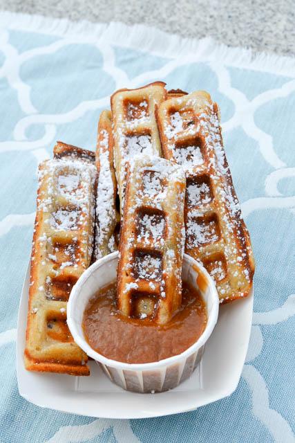 Elvis' Favorite Waffle Dunkers-3