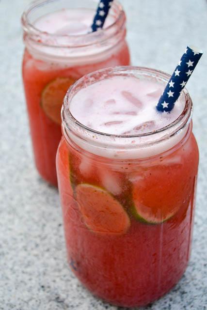 Strawberry Agua de Fresca