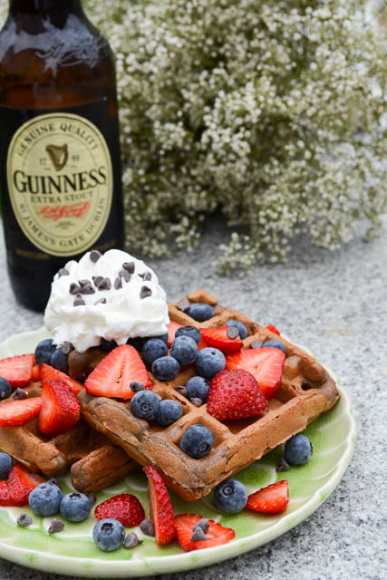 Chocolate Stout Waffles