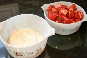 Fudgy Strawberry Brownies-5