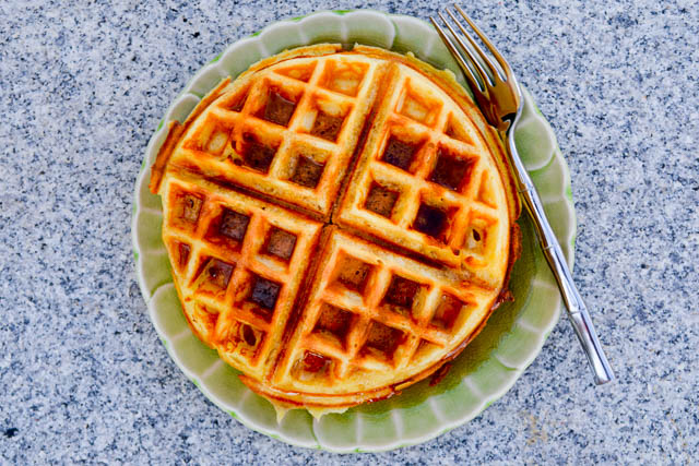 The Best Buttermilk Waffles-1
