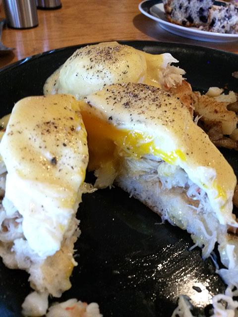 Crab Eggs Benedict_Millbrook Company