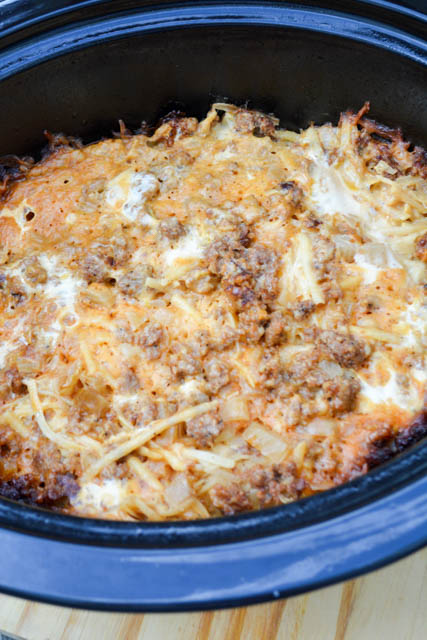 Slow Cooker Breakfast Casserole-3
