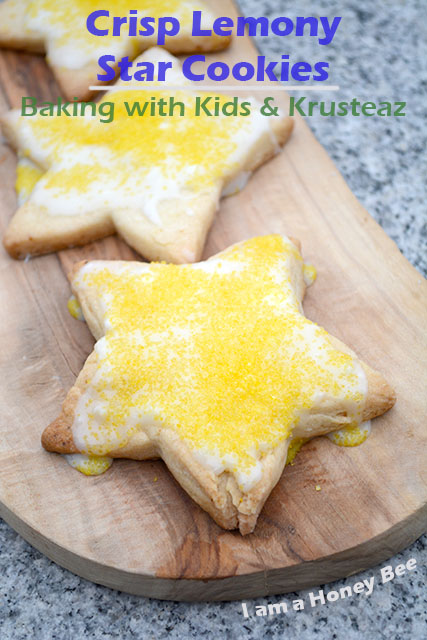 crisp-lemony-star-cookies-krusteaz