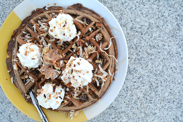 German's Chocolate Cake Waffles_03