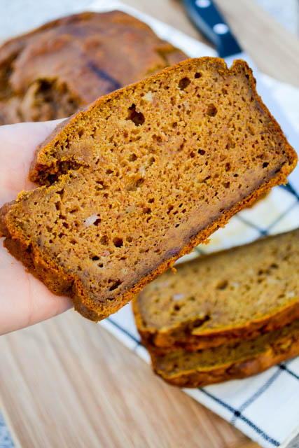 Pumpkin Banana Bread-2