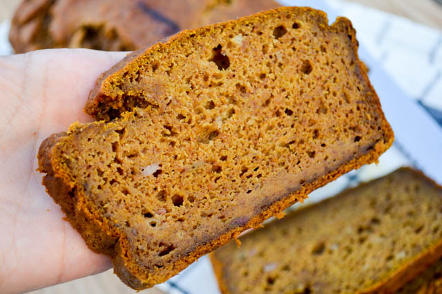 Pumpkin Banana Bread-5