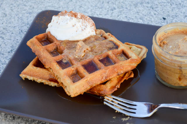Oatmeal Waffle with Chai Infused Whipped Butter-3