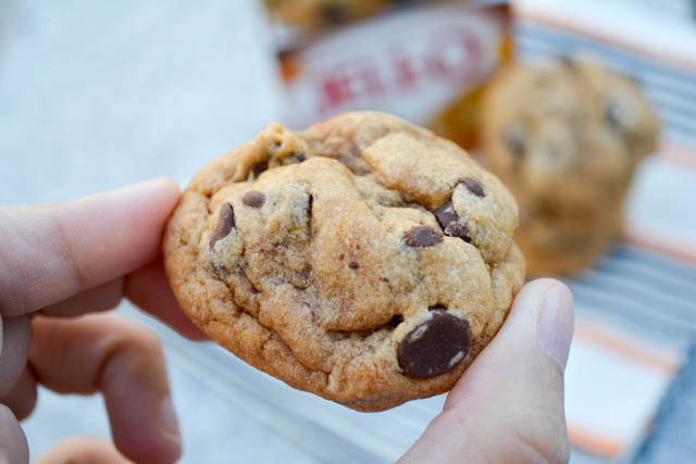 Pumpkin Pie Spice Chocolate Chip Pudding Cookies-1