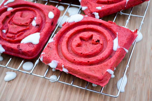 Red Velvet Waffles -1