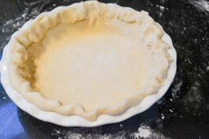 Struesel Topped Ginger Pear Pie-9
