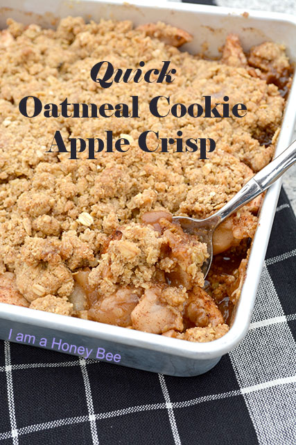 Oatmeal Cookie Apple Crisp