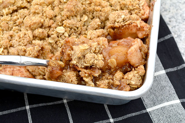 Oatmeal Cookie Apple Crisp_4