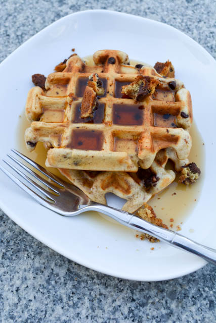 Chocolate Chip Cookie Waffles-02