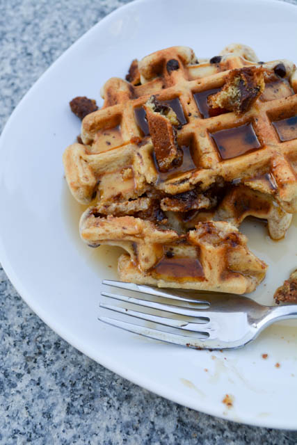 Chocolate Chip Cookie Waffles-04