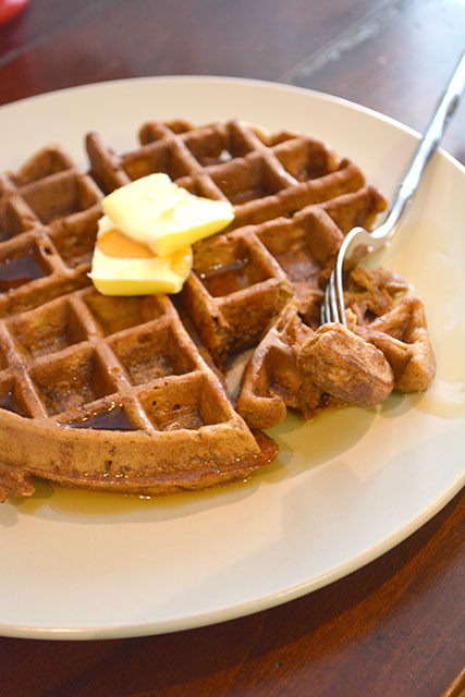 Gingerbread Waffles_02
