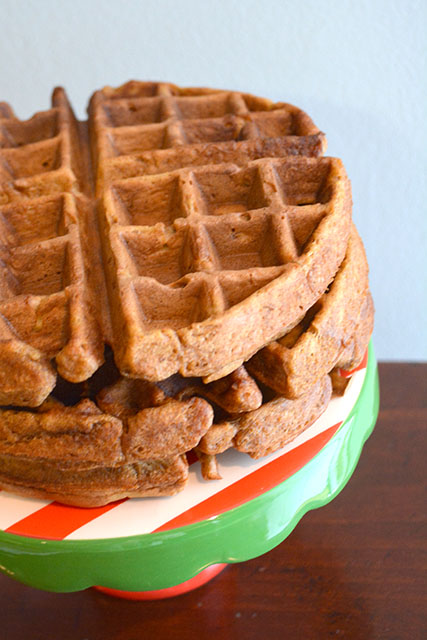 Gingerbread Waffles_04