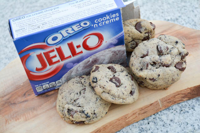 Oreo Pudding Chocolate Chip Cookies-1