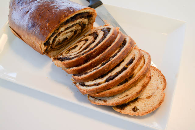 Chocolate Walnut Bread-1