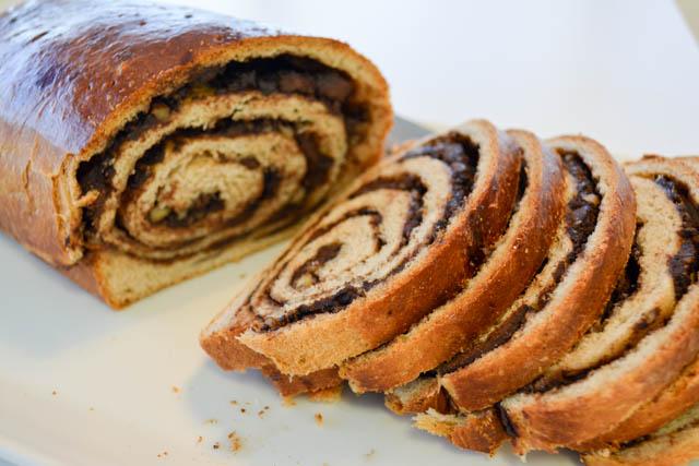 Chocolate Walnut Bread-4