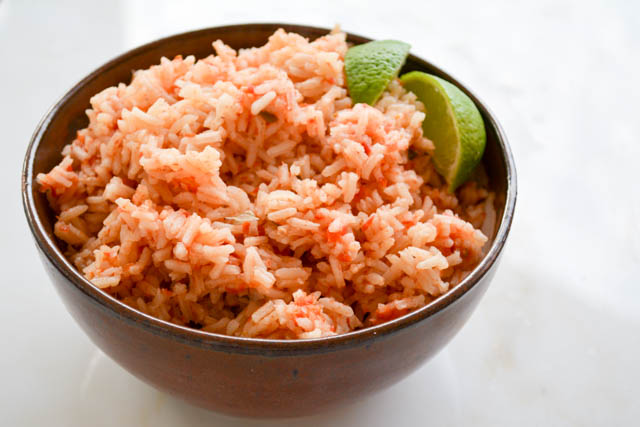 Restaurant Style Mexican Rice-01