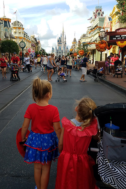 Girls Night at Mickey's Not So Scary Halloween Party